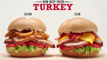 Arby's Deep Fried Turkey TV Spot, 'Team' - Thumbnail 2