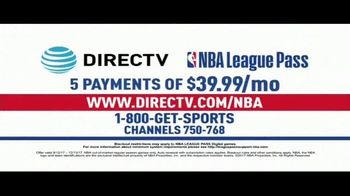DIRECTV NBA League Pass TV Spot, 'Hundreds of Live Games' - Thumbnail 5