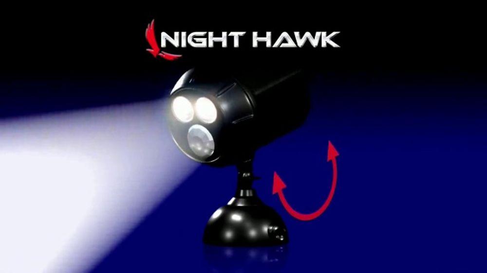 70fd683436c3 Night Hawk TV Commercial, 'Motion Sensor Spotlight' - iSpot.tv