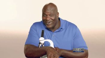 Gold Bond Men's Essentials TV Spot, 'Microscope' Ft. Shaquille O'Neal - Thumbnail 10