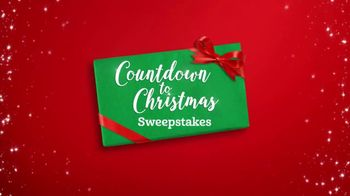 Hallmark Channel Countdown to Christmas Sweepstakes TV Spot, 'Win a Trip'