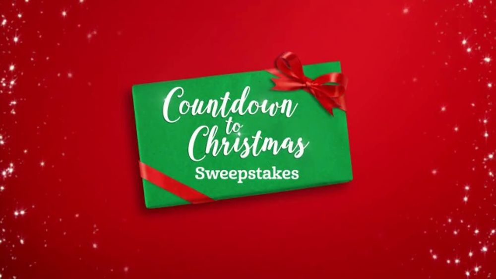 Hallmark Channel Countdown to Christmas Sweepstakes TV Commercial ...