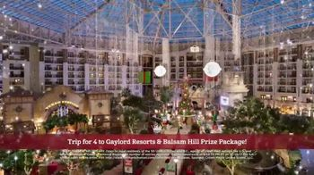 Hallmark Channel Countdown to Christmas Sweepstakes TV Spot, 'Win a Trip' - Thumbnail 6