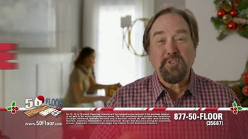50 Floor 60% Off Sale TV Spot, 'Home Improvement' Featuring Richard Karn