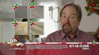 50 Floor 60% Off Sale TV Spot, 'Home Improvement' Featuring Richard Karn - 3 commercial airings