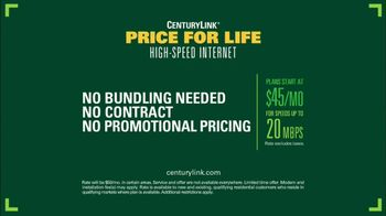 CenturyLink Price for Life High-Speed Internet TV Spot, 'Backyard Barbecue' - Thumbnail 7
