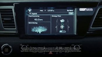 Kia Fall Savings Time TV Spot, 'Breakthroughs' [T1] - Thumbnail 4