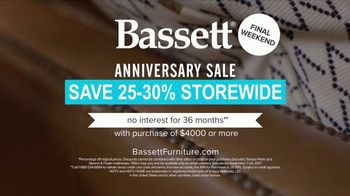 Bassett Anniversary Sale TV Spot, 'HGTV 2017 Makeover: Mariel & Brandt' - Thumbnail 7