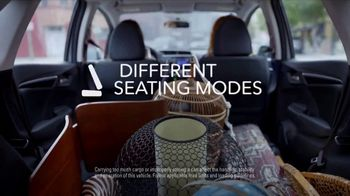2017 Honda Fit LX TV Spot, 'Adaptable' [T2] - Thumbnail 3