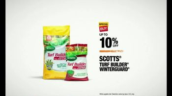 The Home Depot TV Spot, 'Some of the Good Stuff: Turf Builder WinterGuard' - Thumbnail 7