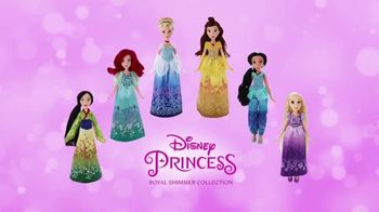 Disney Princess Royal Shimmer Dolls TV Spot, 'Imagination' - 677 commercial airings