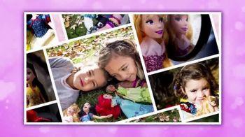 Disney Princess Royal Shimmer Dolls TV Spot, 'Imagination' - Thumbnail 7