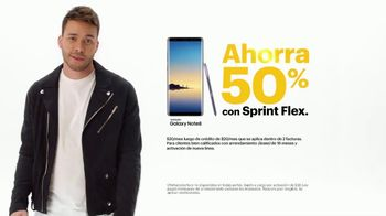Sprint TV Spot, 'Ofertas: Samsung Galaxy Note8' con Prince Royce [Spanish] - 637 commercial airings