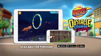 Blaze and the Monster Machines App TV Spot, 'Obstacle Course Challenge'