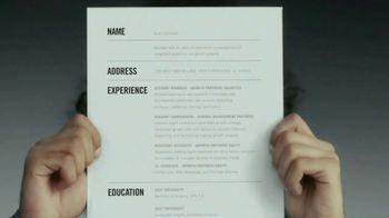 Indeed TV Spot, 'Résumé'