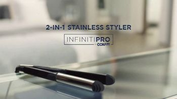 Conair Infiniti PRO 2-in-1 Stainless Styler TV Spot, 'Get It All in One' - Thumbnail 10