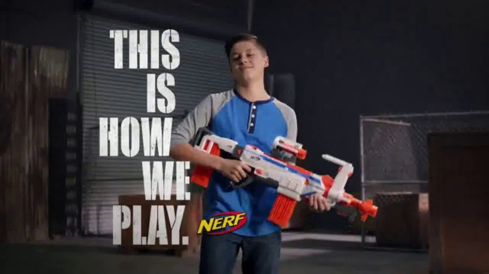 Nerf N-Strike Modulus Regulator TV Commercial, 'Fire Selection' - iSpot.tv
