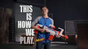 Nerf N-Strike Modulus Regulator TV Spot, 'Fire Selection'