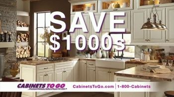 Cabinets To Go TV Spot, 'Your Dream Kitchen' Featuring Bob Vila - Thumbnail 3