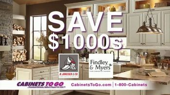 Cabinets To Go TV Spot, 'Your Dream Kitchen' Featuring Bob Vila - Thumbnail 4