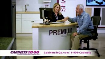 Cabinets To Go TV Spot, 'Your Dream Kitchen' Featuring Bob Vila - Thumbnail 7