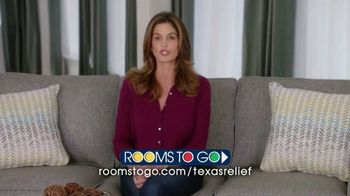 Rooms to Go TV Spot, 'Texas Relief' Featuring Cindy Crawford - Thumbnail 9