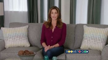 Rooms to Go TV Spot, 'Texas Relief' Featuring Cindy Crawford - Thumbnail 2