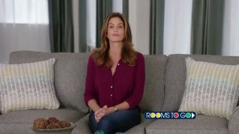 Rooms to Go TV Spot, 'Texas Relief' Featuring Cindy Crawford - Thumbnail 3