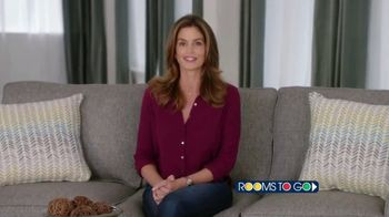 Rooms to Go TV Spot, 'Texas Relief' Featuring Cindy Crawford - Thumbnail 4