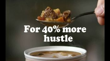 Campbell's Chunky Maxx Soup TV Spot, 'More Meat, Muscle and Hustle'
