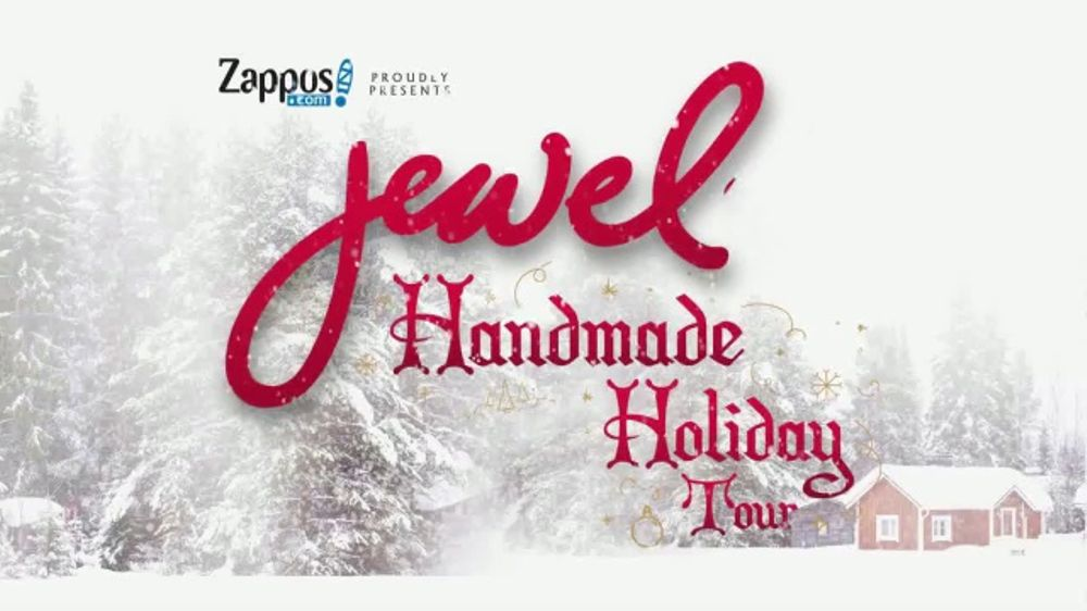 Zappos TV Commercial, \'2017 Jewel\'s Handmade Holiday Tour\' - iSpot.tv