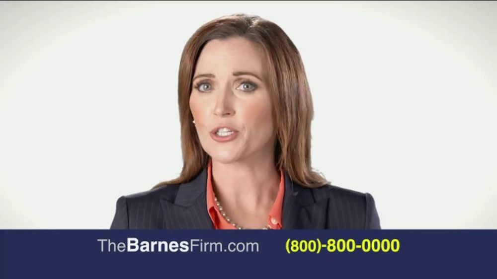 The Barnes Firm Tv Commercial The Right Attorney Ispot Tv