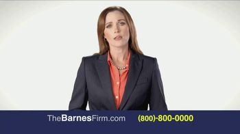 The Barnes Firm TV Spot, 'The Right Attorney' - Thumbnail 1