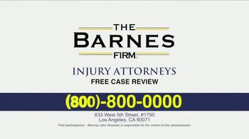 The Barnes Firm TV Spot, 'The Right Attorney' - Thumbnail 10