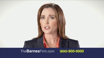 The Barnes Firm TV Spot, 'The Right Attorney'