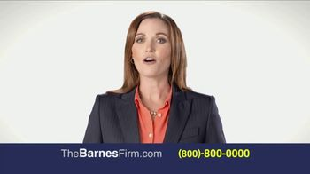 The Barnes Firm TV Spot, 'The Right Attorney' - Thumbnail 5