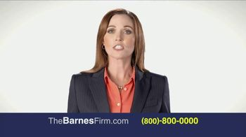 The Barnes Firm TV Spot, 'The Right Attorney' - Thumbnail 7