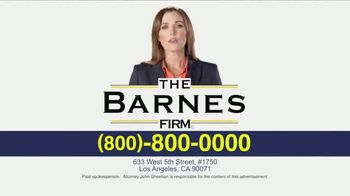 The Barnes Firm TV Spot, 'The Right Attorney' - Thumbnail 8