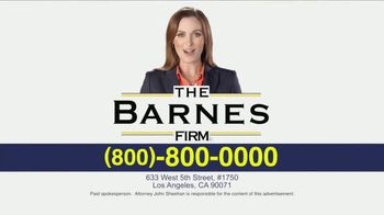 The Barnes Firm TV Spot, 'The Right Attorney' - Thumbnail 9