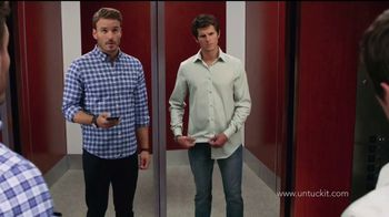 UNTUCKit TV Spot, 'Elevator'