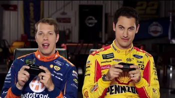 NASCAR Heat 2 TV Spot, 'Third Person' Feat. Joey Logano, Brad Keselowski
