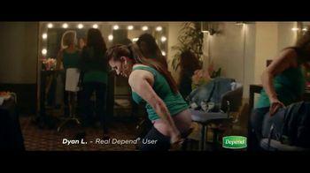 Depend Silhouette TV Spot, 'How Dyan Keeps Dancing' - Thumbnail 4