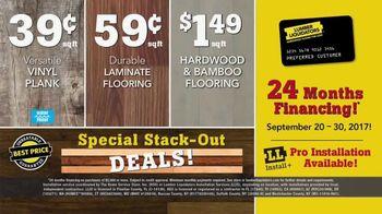 Lumber Liquidators Yellow Tag Clearance TV Spot, 'Water Resistant Laminate' - Thumbnail 7