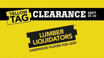 Lumber Liquidators Yellow Tag Clearance TV Spot, 'Water Resistant Laminate' - Thumbnail 2