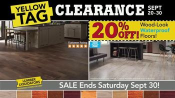 Yellow Tag Clearance Sale: Water Resistant Laminate thumbnail