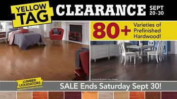 Lumber Liquidators Yellow Tag Clearance TV Spot, 'Water Resistant Laminate' - Thumbnail 5