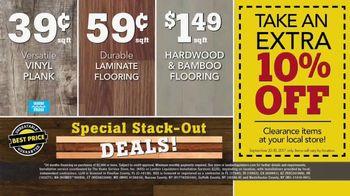 Lumber Liquidators Yellow Tag Clearance TV Spot, 'Water Resistant Laminate' - Thumbnail 6