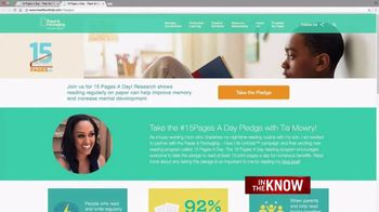 Paper and Packaging Board TV Spot, 'In the Know: 15 Pages' Feat. Tia Mowry - Thumbnail 5