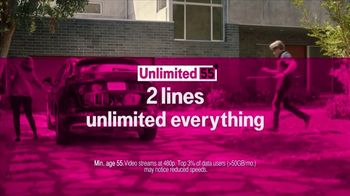 T-Mobile Unlimited 55+ TV Spot, 'Out of Touch' Song by Sammy Hagar - Thumbnail 7