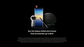 Samsung Galaxy Note8 TV Spot, 'Bigger Things: More' Song by The Black Keys - Thumbnail 8